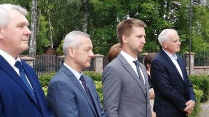 Ostrów Mazowiecka - Minister Cyfryzacji Marek Zagórski wziął udział w Gminnych O