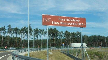 Ostrów Mazowiecka - Droga S8 od teraz nosi nazwę