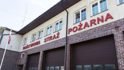 Ostrów Mazowiecka - Komenda Powiatowa Państwowej Straży Pożarnej otrzymała wspar