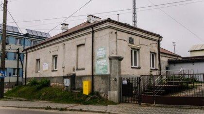 Ostrów Mazowiecka - Centrum Integracji Społecznej znajdujące się na skrzyżowaniu