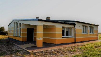 Ostrów Mazowiecka - Remont Domu Kultury w Żyłowie dobiegł końca. Żyłowo, to wieś