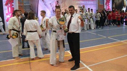 Ostrów Mazowiecka - Michalina Chrobot, zawodniczka Ostrowskiego Klubu Karate Kyo