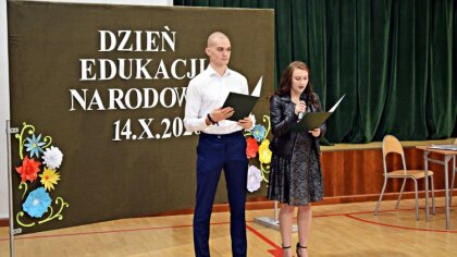 Ostrów Mazowiecka - Dnia 13 października odbyła się akademia z okazji Dnia Eduka