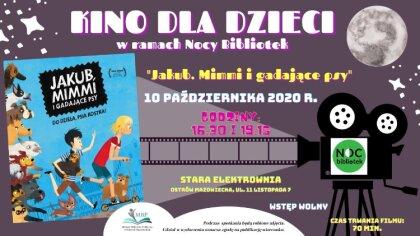 Ostrów Mazowiecka - Podczas trwania Nocy Bibliotek 2020 w Miejskiej Bibliotece P