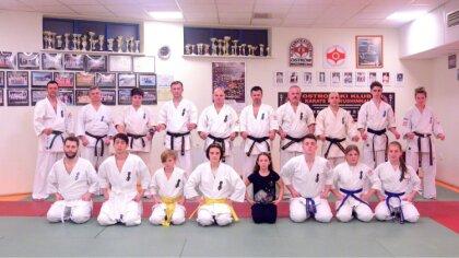 Ostrów Mazowiecka - W dojo Ostrowskiego Klubu Karate Kyokushinkai miała miejsce