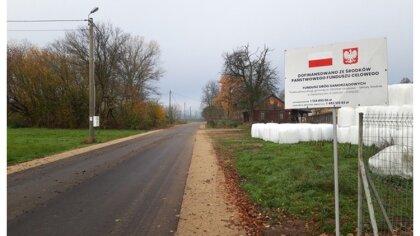 Ostrów Mazowiecka - Do użytku została oddana droga Zaręby Kościelne - Szulborze