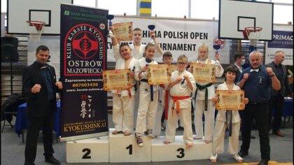 Ostrów Mazowiecka - Za nami kolejny turniej karate kyokushin. Tym razem zawodnic
