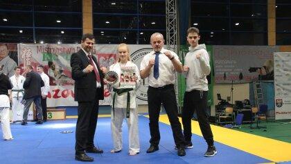 Ostrów Mazowiecka - Swój udział na Mistrzostwach Polski karate w Zielonce wziął