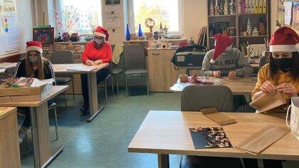 Ostrów Mazowiecka - Przygotowania do Świąt Bożego Narodzenia w Środowiskowym Dom