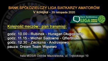 Ostrów Mazowiecka - Trwa V kolejka rozgrywek Banku Spółdzielczego Ligi Siatkarzy