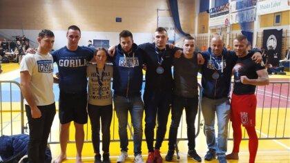 Ostrów Mazowiecka - Ośmioosobowa delegacja złożona z zawodników trenujących na c