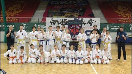 Ostrów Mazowiecka - Ostrowski Klub Karate Kyokushinkai wziął udział w ostatnim t