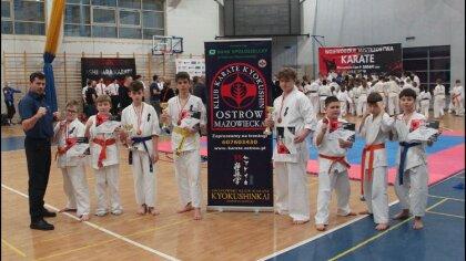 Ostrów Mazowiecka - Kolejny intensywny turniej dla ostrowskich karateków. Tym ra