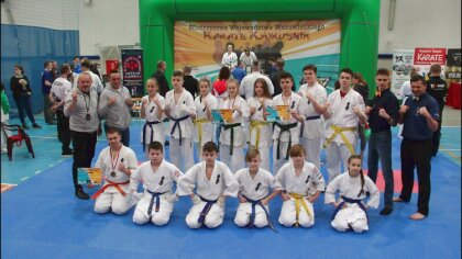 Ostrów Mazowiecka - Ostrowski Klub Karate Kyokushinkai wziął udział w Mistrzostw