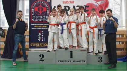 Ostrów Mazowiecka - Zawodnicy Ostrowskiego Klubu Karate Kyokushinkai wzięli udzi