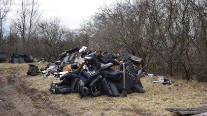 Ostrów Mazowiecka - Inspektorzy Wojewódzkiego Inspektoratu Ochrony Środowiska w
