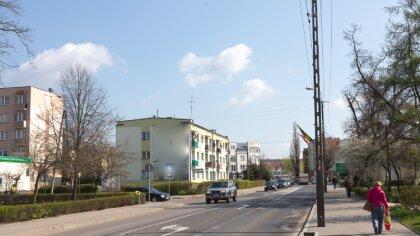 Ostrów Mazowiecka - Polska. W najbliższych dniach należy spodziewać się przelotn