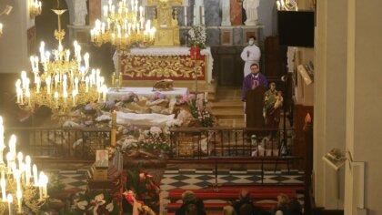 Ostrów Mazowiecka - W kościele parafialnym w Wąsewie odbyły się uroczystości pog