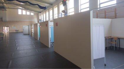 Ostrów Mazowiecka - W Powiatowej Hali Sportowej przy Liceum Ogólnokształcącym im