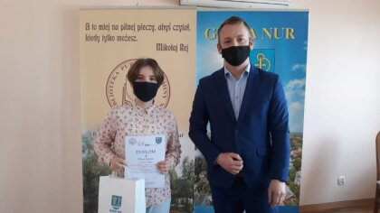 Ostrów Mazowiecka - Na zaproszenie wójta gminy Nur Rafała Kruszewskiego do sali