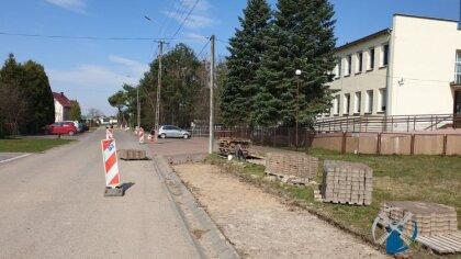 Ostrów Mazowiecka - W miejscowości Boguty-Pianki rozpoczęła się przebudowa ulic