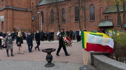Ostrów Mazowiecka - W Ostrowi Mazowieckiej odbyły się obchody Święta Trzeciego M