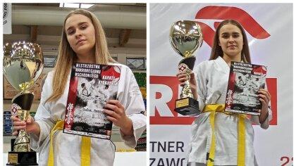 Ostrów Mazowiecka - Zofia Perzan reprezentująca Brokowski Klub Karate Kyokushina