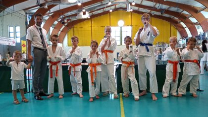 Ostrów Mazowiecka - W Ostrołęce odbył się Turniej Karate Kyokushin dla dzieci i
