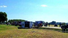 Ostrów Mazowiecka - Znane są już wstępne ustalenia policji w sprawie wypadku w N
