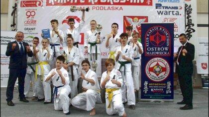Ostrów Mazowiecka - W hali AWF w Białej Podlaskiej odbyły się Mistrzostwa Makror