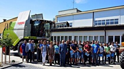 Ostrów Mazowiecka - Uczniowie Zespołu Szkół Centrum Kształcenia Rolniczego w Sta