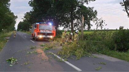 Ostrów Mazowiecka - Strażacy z Ochotniczej Straży Pożarnej w Andrzejewie zostali