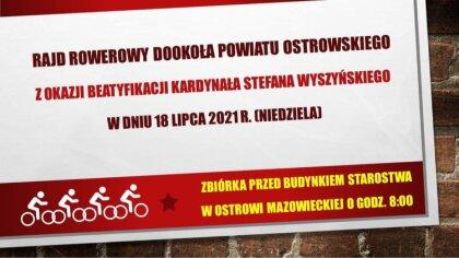 Ostrów Mazowiecka - Zbigniew Kamiński radny powiatu ostrowskiego z okazji beatyf