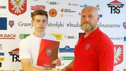 Ostrów Mazowiecka - Mateusz Maciuszko ma 21 lat. W rundzie wiosennej pokazał się