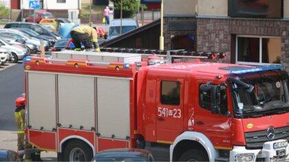 Ostrów Mazowiecka - Ostrowscy strażacy dostali zgłoszenie o braku możliwości dos