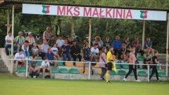 Ostrów Mazowiecka - 17 października piłkarze z Małkinii zagrają kolejn