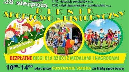 Ostrów Mazowiecka - Już wkrótce odbędzie się piknik sportowo-historyczny w Komor