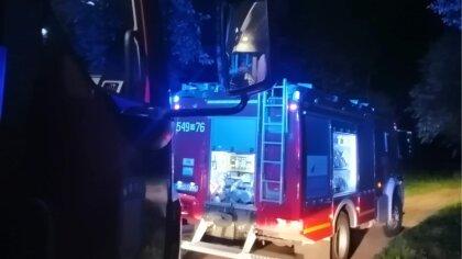 Ostrów Mazowiecka - We wtorek 17 sierpnia, późnym wieczorem strażacy zmagali się