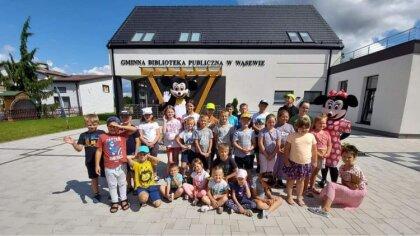Ostrów Mazowiecka - Gminna Biblioteka Publiczna w Wąsewie kończy swój cykl