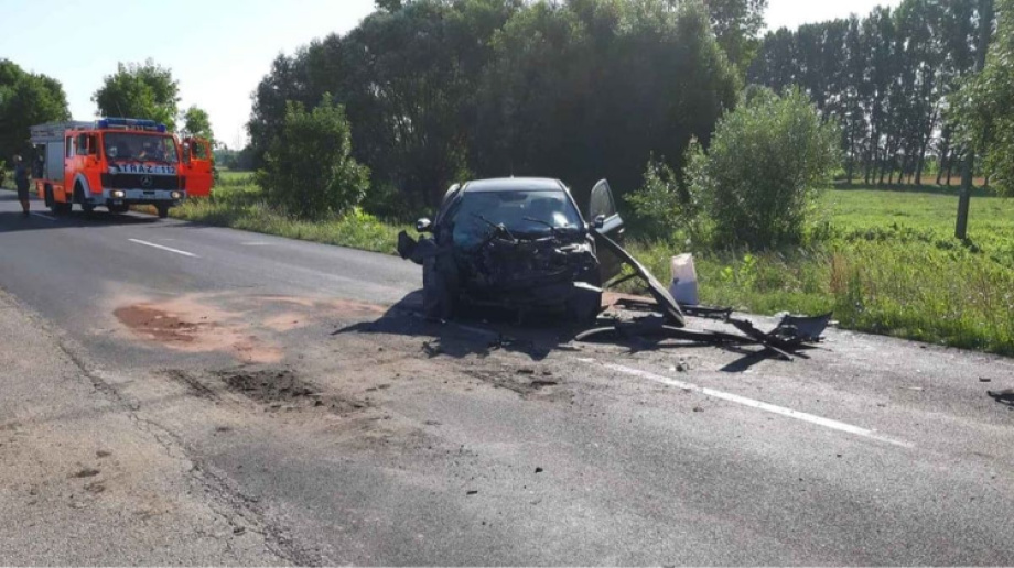 Ostrów Mazowiecka - Do zdarzenia samochodu osobowego z ciężarówką doszło na tere