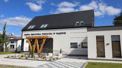 Ostrów Mazowiecka - Gminna biblioteka Publiczna w Wąsewie otrzymała dofinansowan