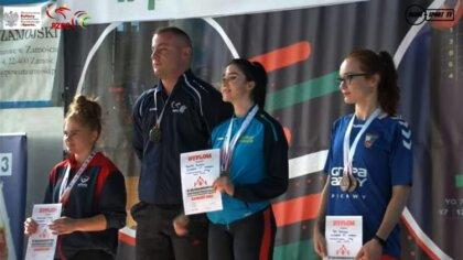 Ostrów Mazowiecka - Zawodniczka UOLKA Ostrów Mazowiecka została złotą medalistką