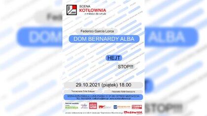 Ostrów Mazowiecka - W piątek na Scenie Kotłownia odbędzie się spektakl pt.