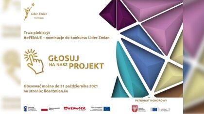 Ostrów Mazowiecka - Ruszyło głosowanie w plebiscycie #eFEktUE - nominacje do kon