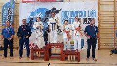 Ostrów Mazowiecka - Pierwsza Mazowiecka Liga Karate po wakacjach odbył