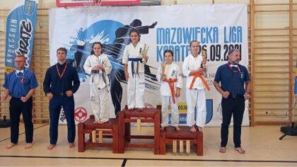Ostrów Mazowiecka - Pierwsza Mazowiecka Liga Karate po wakacjach odbyła się we w