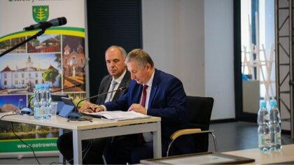 Ostrów Mazowiecka - W środę 29 września odbyła się XXVII sesja Rady Miasta Ostró