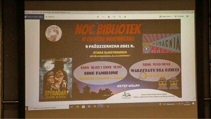 Ostrów Mazowiecka - W Starej Elektrowni odbyła się Noc Bibliotek podczas, której