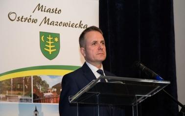 Ostrów Mazowiecka - Burmistrz Jerzy Bauer jest jednym z pięciu wyróżnionych za k