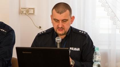 Ostrów Mazowiecka - Ostrowscy policjanci rozmawiali z mieszkańcami gminy Wąsewo